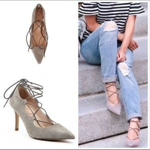 Sole Society 'Madeline' Lace-Up Pump 9.5